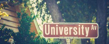 university sign