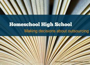 homeschool outsourcing